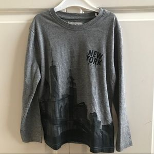 Zara NYC boy's long sleeve